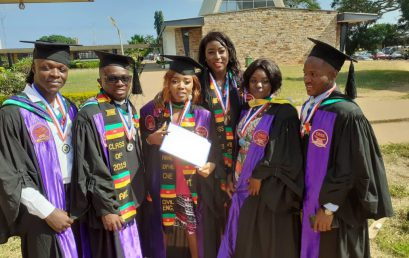 CATUC STUDENTS FLY OUR FLAG IN GHANA