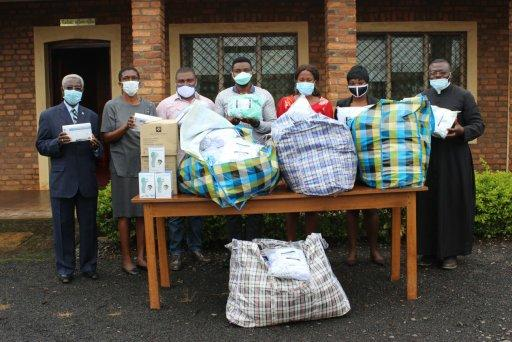 WHO DONATES COVID-19 PREVENTIVE MATERIAL TO CATUC